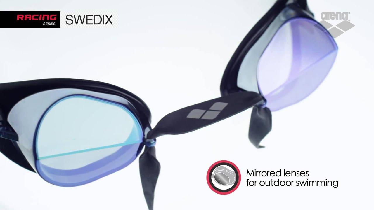Очки для плавания arena cobra mirror green. - YouTube