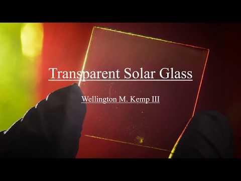 Kemp III_Wellington_(Transparent Solar Glass)