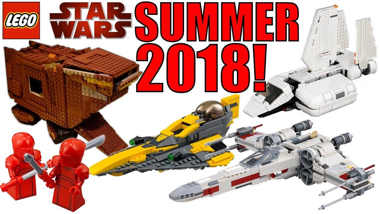 ALL LEGO STAR WARS SUMMER 2018 SETS! + UCS CLOUD CITY