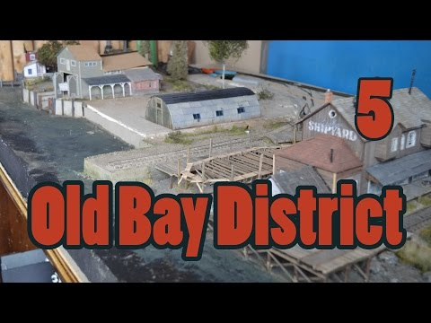 Moving Ballasted Track   Old Bay District   Finescale Waterfront