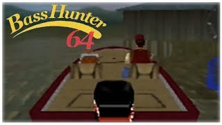 In-Fisherman Bass Hunter 64 Nintendo 64 Gameplay Walkthrough Part 9 - Tournament 8 Day 1!