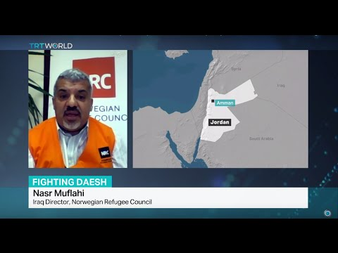 Interview with Nasr Muflahi from Norwegian Refugee Council on the fight against DAESH