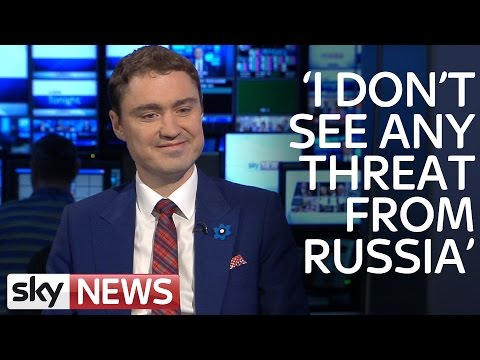 Estonia's Prime Minister Taavi Rõivas On Russia's Intentions