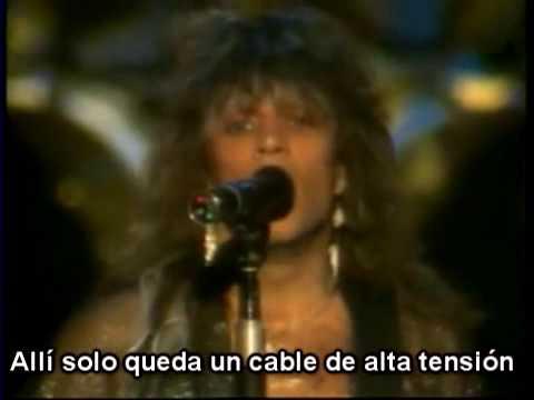Bon Jovi - Shot Through The Heart (Subtitulado/Subtítulos Español)