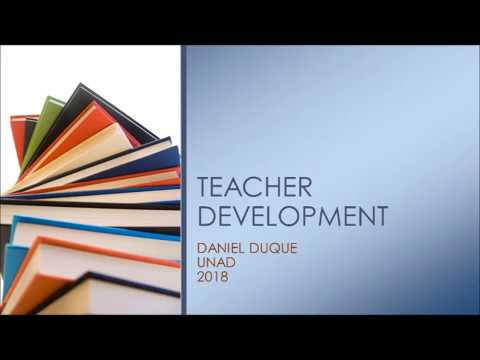 Teacher development stategies: Teacher Paul Noble Interview