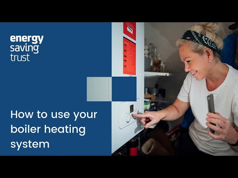 How to use your boiler heating system