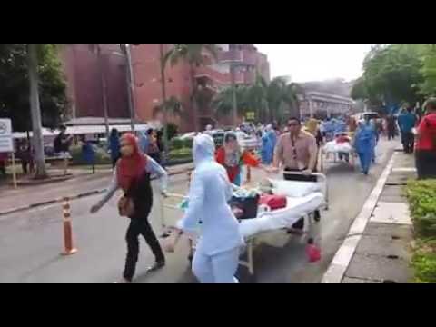 Video: Enam Dipercayai Maut Dalam Kebakaran Hospital Sultanah Aminah JB
