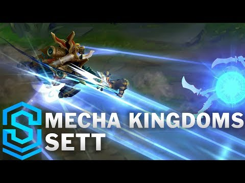 Mecha Kingdoms Sett Skin Spotlight - Pre-Release - League of Legends