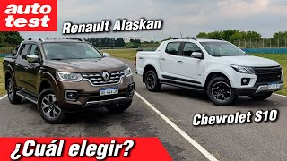 ¿Renault Alaskan o Chevrolet S10? Comparamos ambas pick ups y te las mostramos al detalle