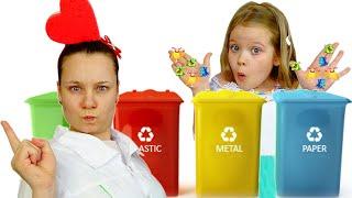 Лера и мама - истории про чистоту и гигиену