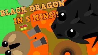 MOPE.IO - HOW TO GET BLACK DRAGON IN 5 MINUTES!! // Donkey Kills Black Dragon
