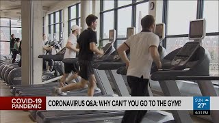 Coronavirus Q&A: why can't you go to the gym yet?