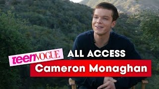 shameless actor cameron monaghan reveals his dream co stars—teen vogue all access