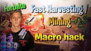 Fortnite - Fast Harvesting macro hack🔥🔥. Season 4 WORKING. For RAZER. (Download) FaZe Tfue