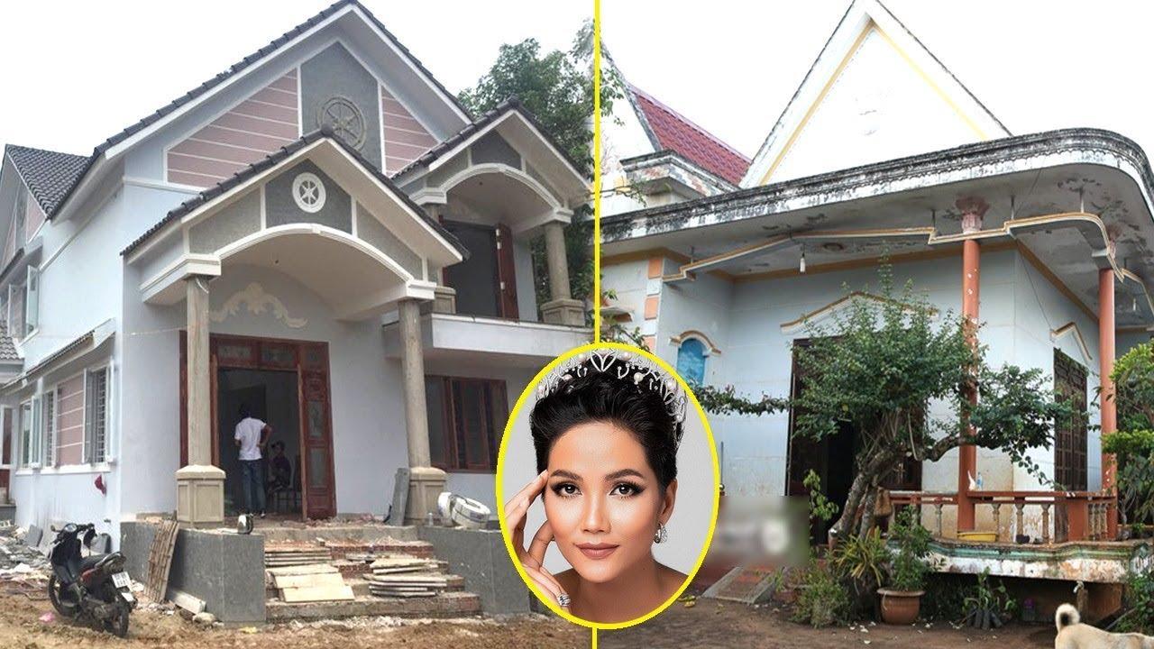 H'Hen Niê Khoe Nhà Ở Quê Khang Trang Sau Khi Chi Tiền 'Khủng' Để Tân Trang - TIN TỨC 24H TV