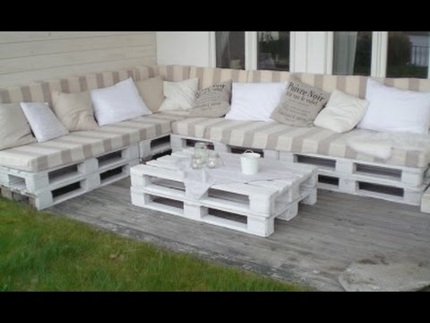 diy sof em pallet gastos com materiais youtube. Black Bedroom Furniture Sets. Home Design Ideas