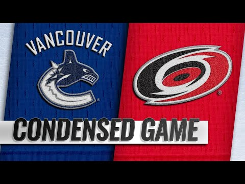 10/09/18 Condensed Game: Canucks @ Hurricanes