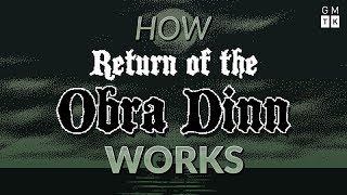 How Return of the Obra Dinn Works | Game Maker