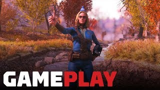14 Minutes of Fallout 76 on PC (4K 60FPS)