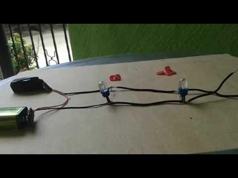 Circuito En Paralelo : Experimento circuito paralelo youtube
