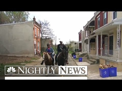 In This Inner-City Philadelphia Neighborhood, Concrete Cowboys Ride | NBC Nightly News