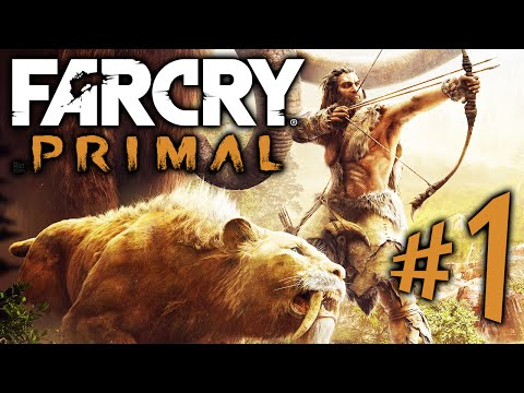 FAR CRY PRIMAL - Parte 1: Takkar, Guerreiro Primordial! [ Playstation 4 - Playthrough PT-BR ]
