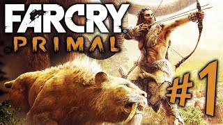 FAR CRY PRIMAL - Parte 1: Takkar, Guerreiro Primordial! [ Playstation 4 - Playthrough PT-BR ]