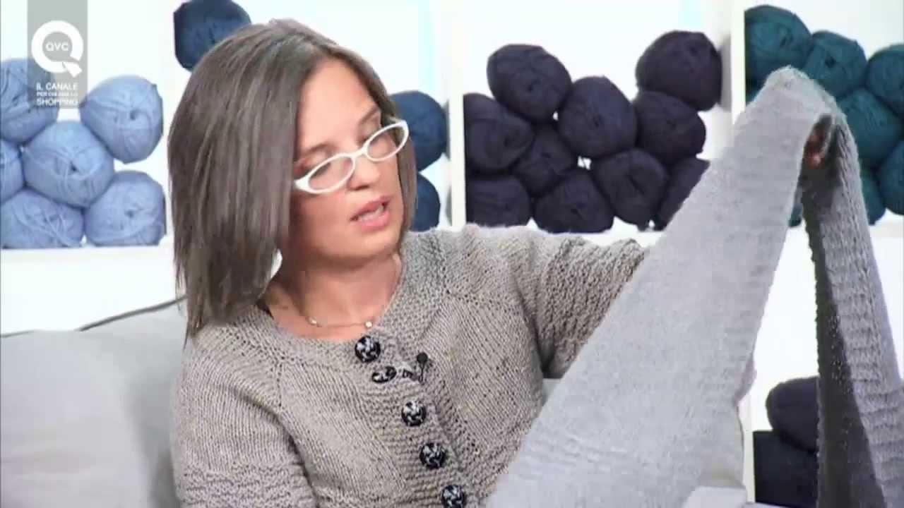 Realizzare una sciarpa a maglia 1 Presenta Emma Fassio - YouTube 9b66b3e7b4fe