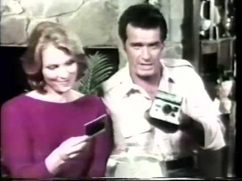 James Garner & Mariette Hartley 1979 Polaroid Camera ...