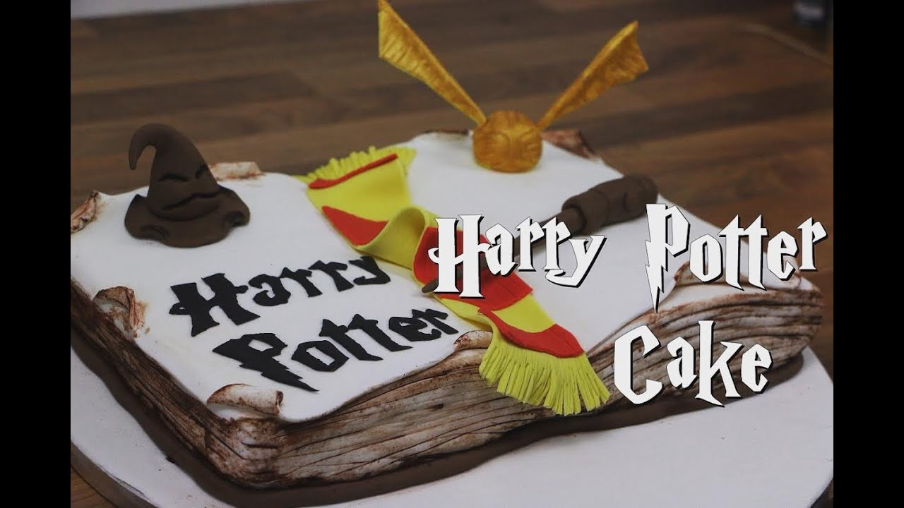 Recette Gateau Harry Potter Harry Potter Cake Cake Design Youtube