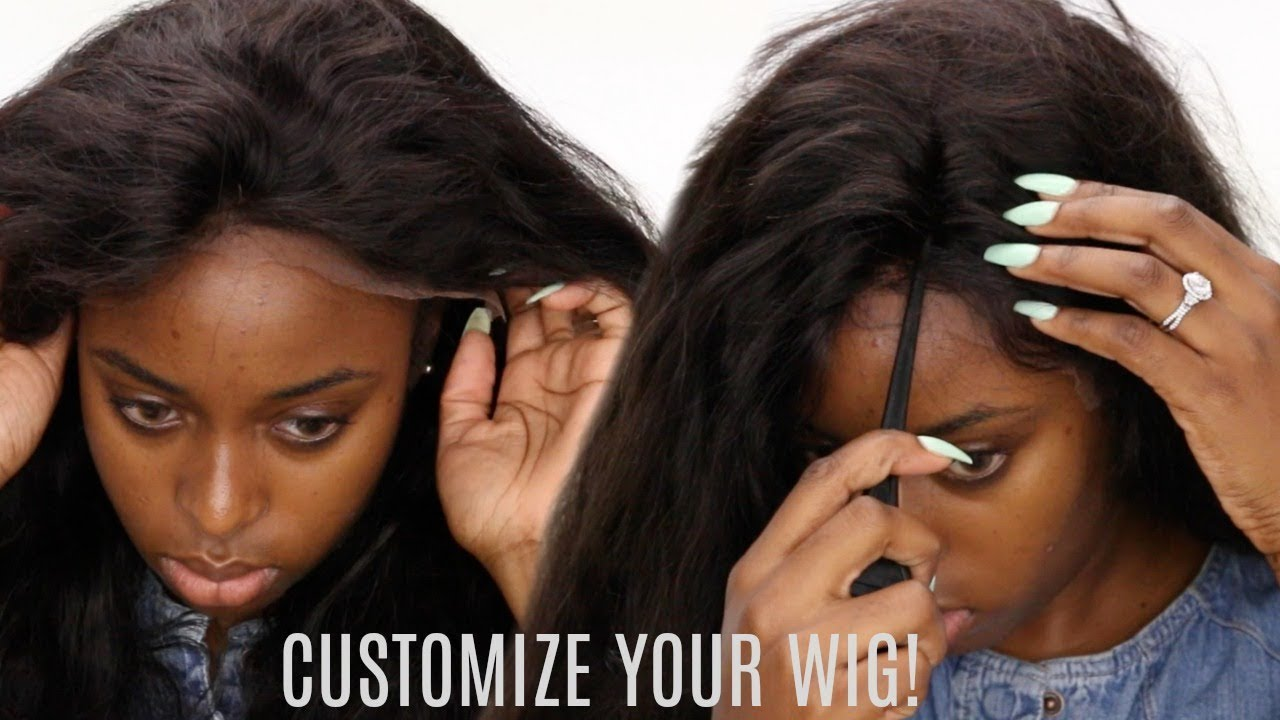 Image result for A nigerian lady trying to wear a wig
