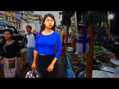 Night Market in Yangon