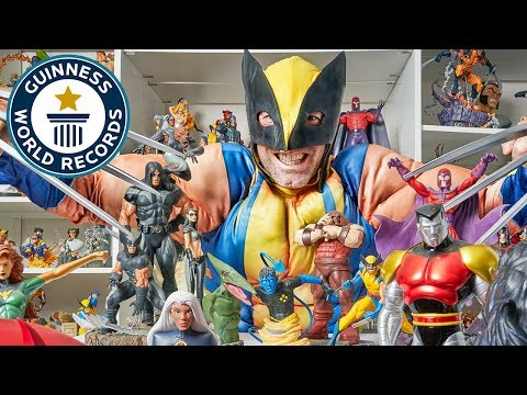 Largest collection of X-men memorabilia – Meet The Record Breakers