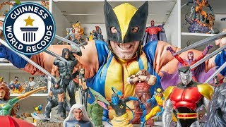 Largest collection of X-men memorabilia - Meet The Record Breakers