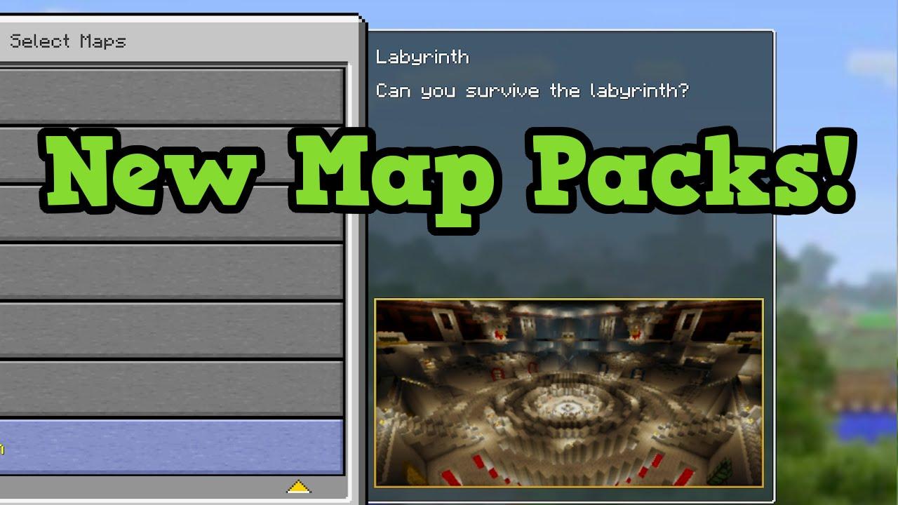 Minecraft Battle Mini Game NEW MAPS DETAILS   YouTube
