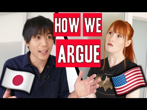 What we argue about  JapaneseAmerican marriage