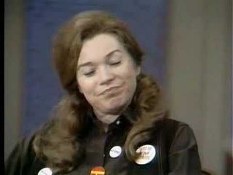 Shirley MacLaine shills for George McGovern