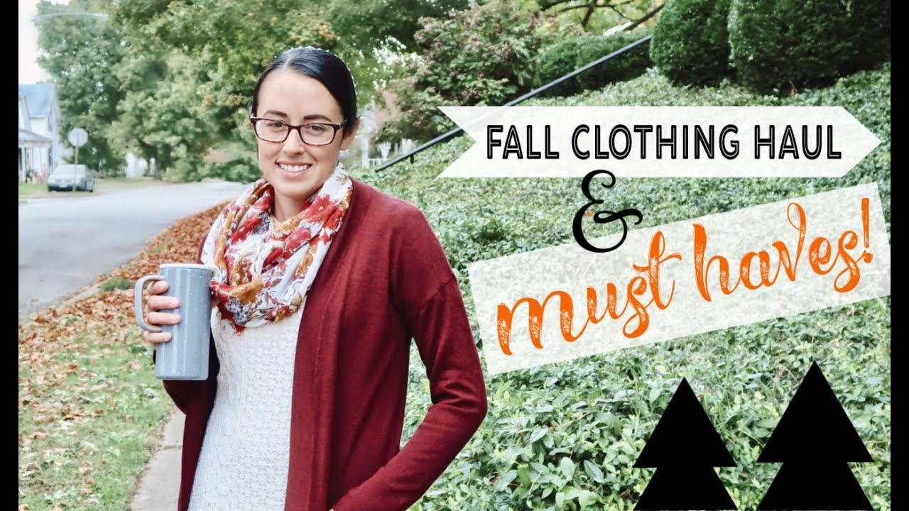 2018 FALL CLOTHING HAUL ???? MY FALL MUST HAVES! | THRIFTED CLOTHES