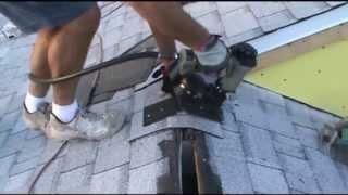 ridge vent installation instructions