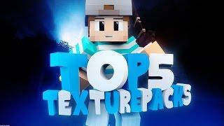 TOP 5 Minecraft PvP Texture Packs/Resource Packs • #25 • SebiiYT