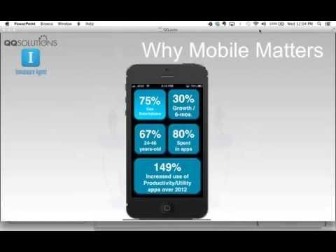 The Insurance Agent Mobile App, a Breakthrough Mobile Solution.