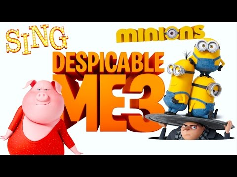 Despicable Me 3 Minion Rush Sing Movie Kids Game