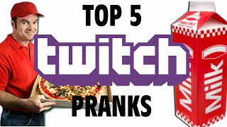 Top 5 Twitch Pranks - GFM