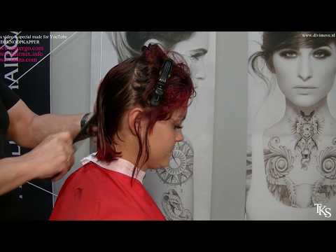 Mandy has a bob for 2 weeks, now she wants a PIXIE hairstyle! Tutorial c c by TKS