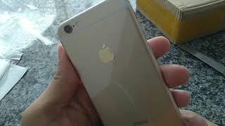 Unboxing do 2° iPhone 6s 32gb comprado no Aliexpress loja Rainbow, link na descrição.