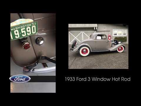 1933 Ford 3-Window Hot Rod