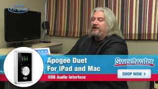 Apogee Duet for iPad and Mac Demo - Sweetwater's iOS Update, Vol. 56