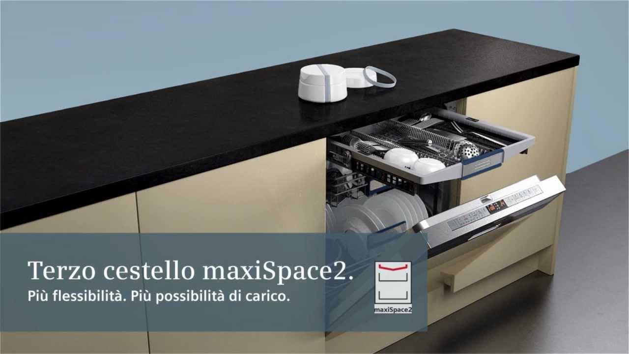 Lavastoviglie Siemens terzo cestello maxiSpace2 (Full HD).mp4 - YouTube