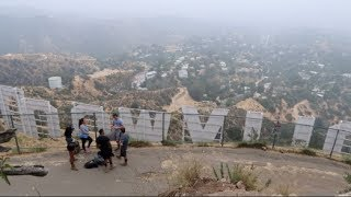 HIKING TO THE HOLLYWOOD SIGN   THE DIMILY TRIP