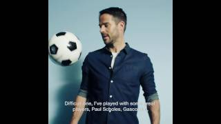 Burton Menswear X Jamie Redknapp: Best Player Played With
